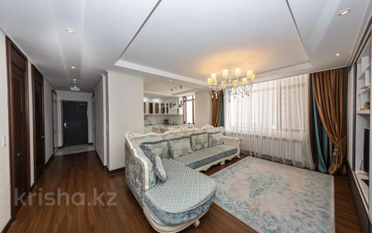 4-комнатная квартира, 109.5 м², 4/22 этаж, Кабанбай батыра 43А за 70 млн 〒 в Нур-Султане (Астана), Есиль р-н