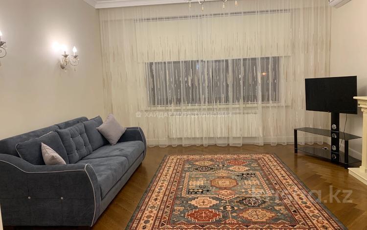 2-комнатная квартира, 100 м², 4/7 этаж помесячно, Митина 4 за 550 000 〒 в Алматы, Медеуский р-н
