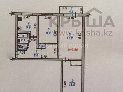 3-комнатная квартира, 58 м², 3/4 этаж, Абылай-Хана 30 — Маметовой за 16.8 млн 〒 в Алматы, Алмалинский р-н — фото 7