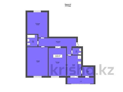 3-комнатная квартира, 112 м², 22-4 3 за 33.6 млн 〒 в Нур-Султане (Астана), Есиль р-н — фото 2
