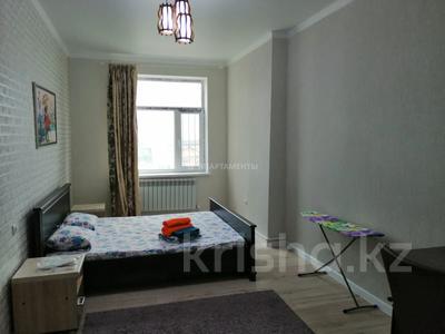 2-комнатная квартира, 80 м², 14/14 этаж посуточно, мкр 11, проспект Абилкайыр Хана 144б/2к за 10 000 〒 в Актобе, мкр 11