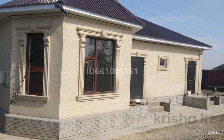 4-комнатный дом, 135 м², 6 сот., Нурбереке 4 — 1я линия за 23 млн 〒 в Комсомоле