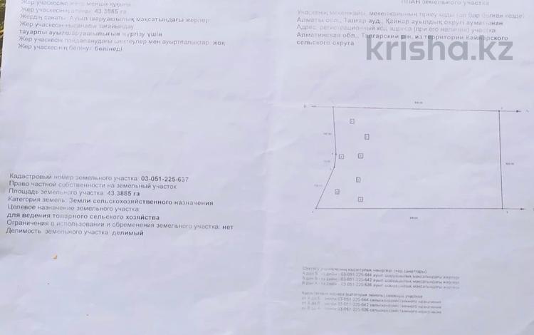 Участок 183 га, Жаналык за 91.5 млн 〒