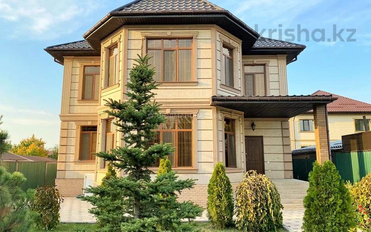 6-комнатный дом, 350 м², 8 сот., мкр Достык, Аккогершин — Яссауи за 105 млн 〒 в Алматы, Ауэзовский р-н