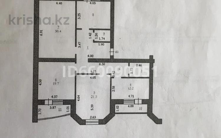 4-комнатная квартира, 130 м², 2/5 этаж, Молдагуловой 57 — Тауелсиздик за 40 млн 〒 в Актобе, мкр. Батыс-2