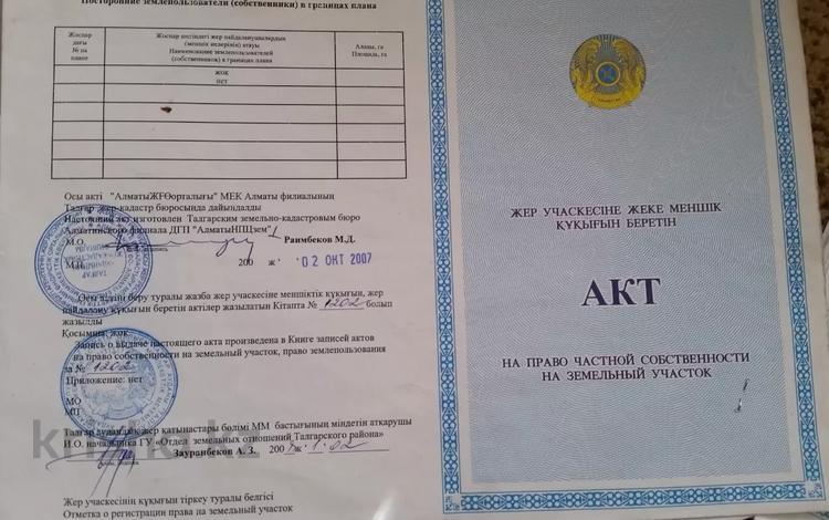 Участок 10 соток, Найманбаева 341 за 450 000 〒 в Нура