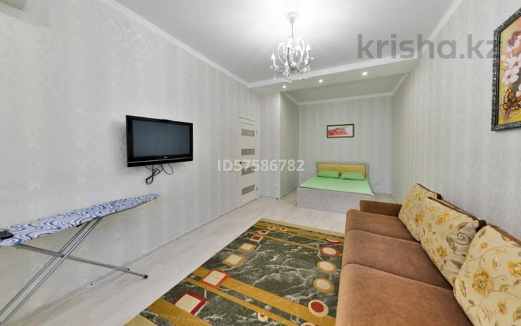 1-комнатная квартира, 42 м², 4/23 этаж посуточно, Кабанбай батыра 29 — Сыганак за 8 000 〒 в Нур-Султане (Астана), Есиль р-н