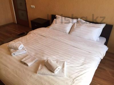 4-комнатная квартира, 90 м², 5/16 этаж посуточно, Байсеитовой 42 — Сатпаева за 16 000 〒 в Алматы, Бостандыкский р-н