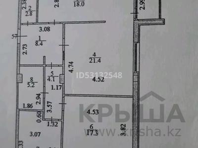 3-комнатная квартира, 93.1 м², 2/7 этаж, 38 10 — Керей Жанибек хандары за 49 млн 〒 в Нур-Султане (Астана), Есиль р-н — фото 12