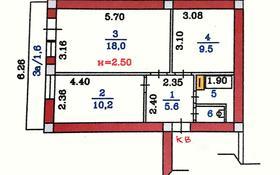 2-комнатная квартира, 50 м², 4/5 этаж, Курмангазы 33 — проспект Назарбаева за 29 млн 〒 в Алматы, Медеуский р-н