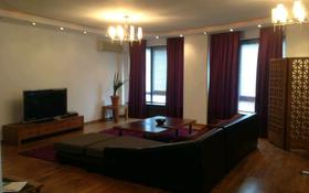 4-комнатная квартира, 164 м², 2/9 этаж помесячно, Достык 97 за 450 000 〒 в Алматы