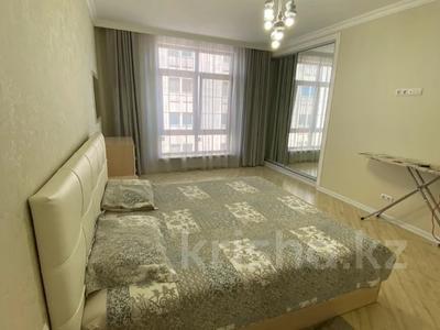 3-комнатная квартира, 110 м², 6/10 этаж помесячно, Кажымукана за 390 000 〒 в Алматы