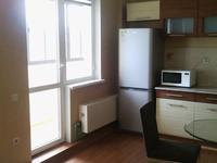 1-комнатная квартира, 55 м², 5/25 этаж посуточно, Абиша Кекилбайулы 270 за 14 000 〒 в Алматы, Бостандыкский р-н