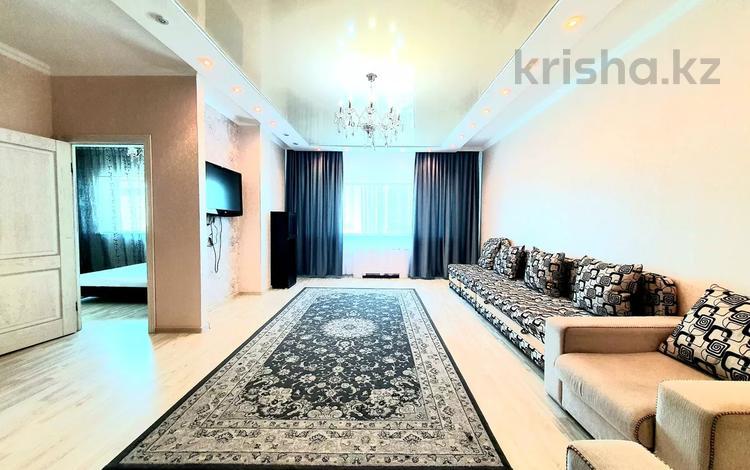 3-комнатная квартира, 140 м², 22/41 этаж посуточно, Достык 5 — Сауран за 16 999 〒 в Нур-Султане (Астане), Есильский р-н