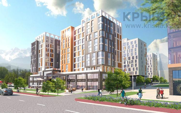 1-комнатная квартира, 41.8 м², Байтурсынова 177 за ~ 21.4 млн 〒 в Алматы, Бостандыкский р-н