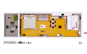 1-комнатная квартира, 54 м², 3/11 этаж, Искеле Лонг Бич за 23 млн 〒