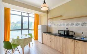 1-комнатная квартира, 37 м², 5/10 этаж посуточно, Бузурбаева 4Б блок 1 — Жибек жолы за 11 000 〒 в Алматы