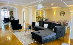 4-комнатный дом помесячно, 240 м², 4 сот., мкр Горный Гигант, Эдельвейс 6 за 1.3 млн 〒 в Алматы, Медеуский р-н