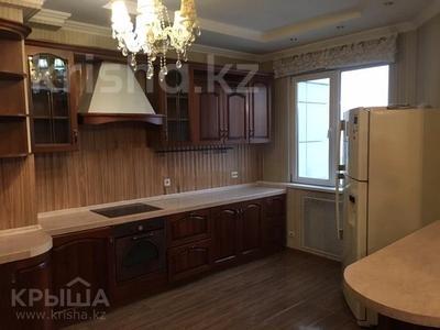 4-комнатная квартира, 160 м² помесячно, Луганского 1 за 350 000 〒 в Алматы, Медеуский р-н