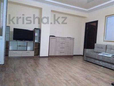 3-комнатная квартира, 90 м², 14/21 этаж посуточно, Толе би 286/6 — Тлендиева за 10 000 〒 в Алматы