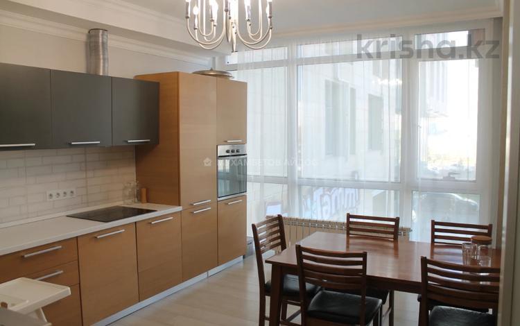 4-комнатная квартира, 106 м², 2/14 этаж, Мәңгілік Ел 51 — Улы Дала за 52 млн 〒 в Нур-Султане (Астана), Алматы р-н