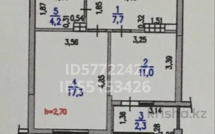 1-комнатная квартира, 44 м², 8/12 этаж, Мустай Карима 13А — Саина за 23 млн 〒 в Алматы, Ауэзовский р-н