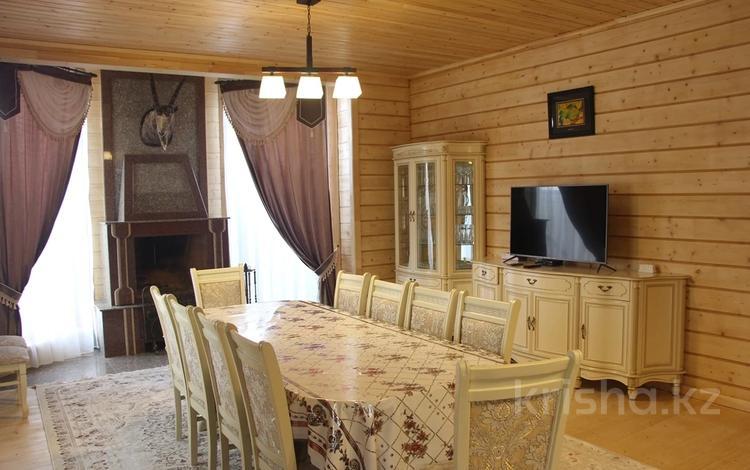 7-комнатный дом, 403 м², 8.6 сот., мкр Нурлытау (Энергетик), Нурлытау 162 за 127.5 млн 〒 в Алматы, Бостандыкский р-н