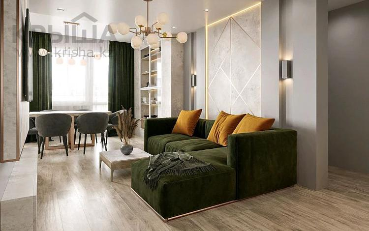 2-комнатная квартира, 65 м², 7/10 этаж помесячно, Сарайшык 7 за 200 000 〒 в Нур-Султане (Астана), Есиль р-н
