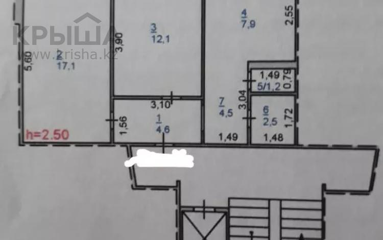 2-комнатная квартира, 51 м², 6/9 этаж, Кутузова 174 — Амангельды за 12.5 млн 〒 в Павлодаре