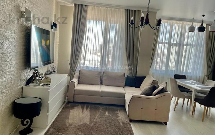3-комнатная квартира, 98.8 м², 13/16 этаж, Республики 9/2 за 50 млн 〒 в Нур-Султане (Астане), р-н Байконур