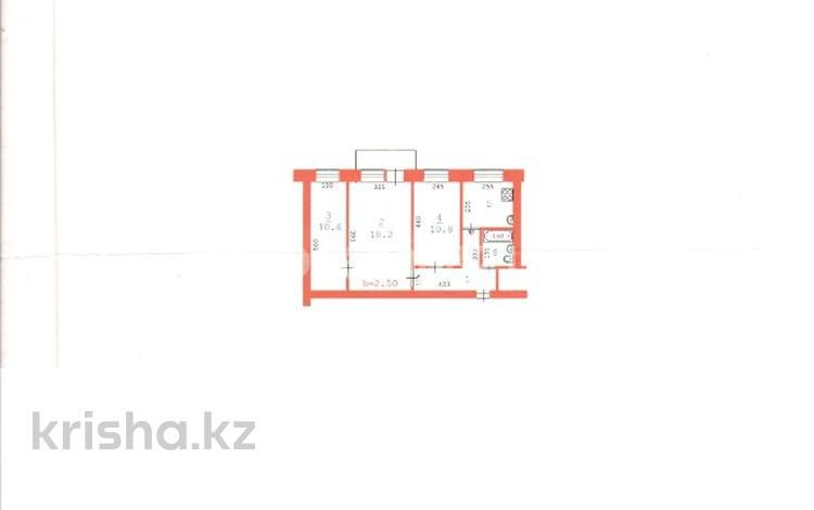 3-комнатная квартира, 55.2 м², 2/5 этаж, Айтеке би 38 за 8 млн 〒 в Актобе, Старый город