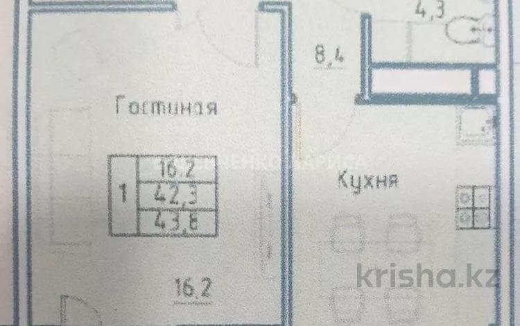 1-комнатная квартира, 40 м², 7/10 этаж, Бокейхана 25 за 13.2 млн 〒 в Нур-Султане (Астана), Есиль р-н