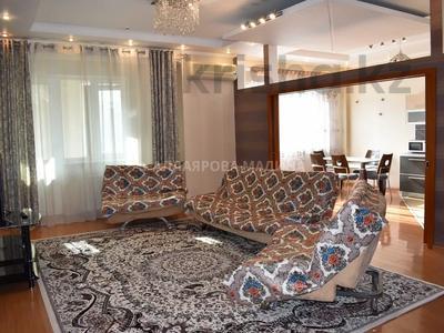 4-комнатная квартира, 150 м², 3/19 этаж на длительный срок, Муканова — Курмангазы за 450 000 〒 в Алматы, Алмалинский р-н