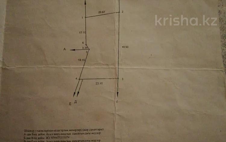 Участок 8 соток, мкр Нурлытау (Энергетик) за 22 млн 〒 в Алматы, Бостандыкский р-н
