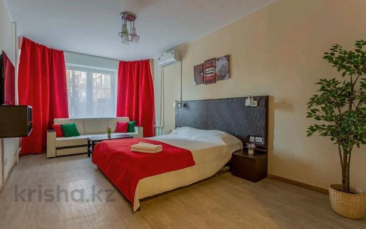 1-комнатная квартира, 48 м², 9/14 этаж посуточно, Утеген батыра 17б — Кабдолова за 9 000 〒 в Алматы