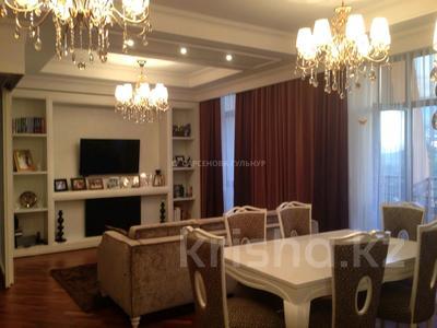 3-комнатная квартира, 130 м², 7/8 этаж помесячно, Омаровой 37 за 950 000 〒 в Алматы, Медеуский р-н — фото 7
