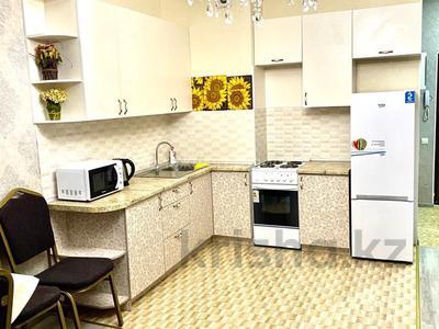 1-комнатная квартира, 55 м², 6/18 этаж посуточно, Навои 208/6 за 11 000 〒 в Алматы, Бостандыкский р-н