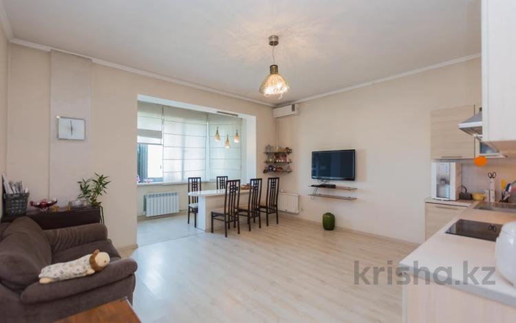 3-комнатная квартира, 90.4 м², 17/17 этаж, Абая 150/230 за 38 млн 〒 в Алматы