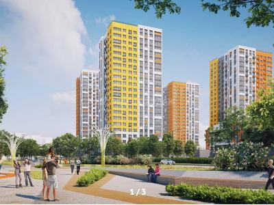 1-комнатная квартира, 39.95 м², Е-22 — E-51 за ~ 11.3 млн 〒 в Нур-Султане (Астана), Есиль р-н — фото 2