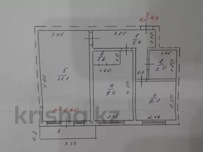 2-комнатная квартира, 43 м², 3/4 этаж, Бокина 24 за 7.8 млн 〒 в Талгаре — фото 2