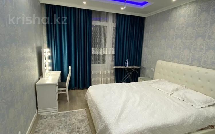 2-комнатная квартира, 75 м², 4/16 этаж помесячно, Навои 208 — Рыскулбекова за 300 000 〒 в Алматы, Бостандыкский р-н