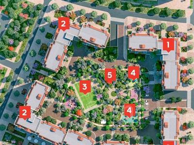 4-комнатная квартира, 133.1 м², 2/9 этаж, А 34 25 — проспект Тауелсыздык за ~ 49.2 млн 〒 в Нур-Султане (Астана), Алматинский р-н — фото 6