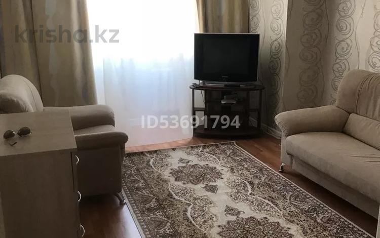 1-комнатная квартира, 46 м², 5/9 этаж посуточно, Янушкеевича 1 за 9 000 〒 в Нур-Султане (Астана), Алматы р-н