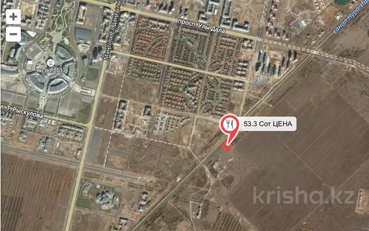 Участок 53 сотки, Тельмана за 145 млн 〒 в Нур-Султане (Астане)