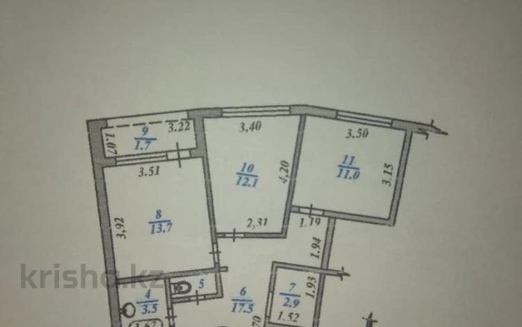 4-комнатная квартира, 94 м², 3/9 этаж, мкр Аксай-1А, Мкр Аксай-1А — Бауыржана Момышулы за 30 млн 〒 в Алматы, Ауэзовский р-н