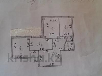 3-комнатная квартира, 75 м², 2/18 этаж, Кенесары — Ахмета Жубанова за 27.8 млн 〒 в Нур-Султане (Астана), р-н Байконур — фото 10