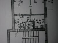 2-комнатная квартира, 40 м², 5/5 этаж, пгт Балыкши, Пгт Балыкши 19 за 7 млн 〒 в Атырау, пгт Балыкши