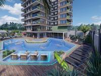 2-комнатная квартира, 55 м², Alanya за 49 млн 〒 в