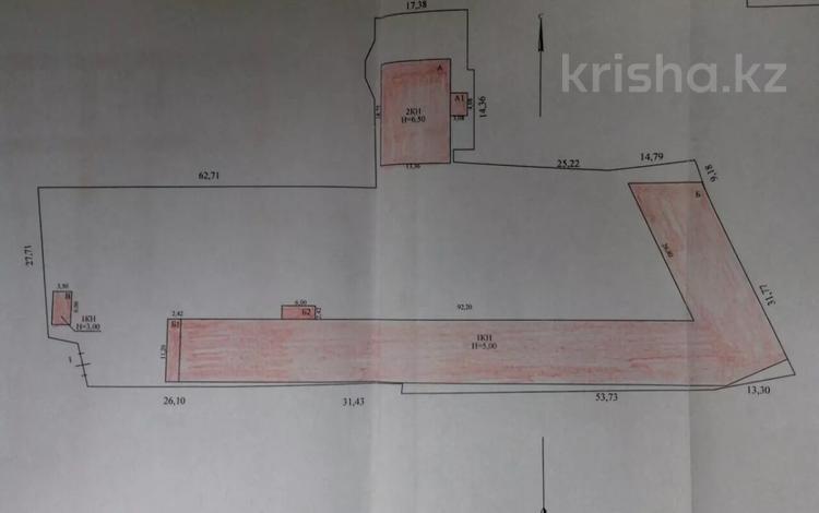 Промбаза 0.55 га, мкр Кемел (Первомайское), Капчагайская 40 за 1.5 млн 〒 в Алматы, Жетысуский р-н