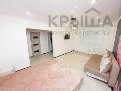 1-комнатная квартира, 35 м², 3/5 этаж посуточно, Абая 31 — Жумабаева за 10 000 〒 в Петропавловске